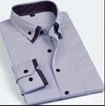 men's double collar dress shirt  4
