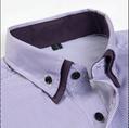 men's double collar dress shirt  2
