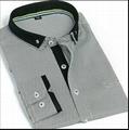 men's stripe button-down shirt