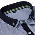 men's stripe button-down shirt  2
