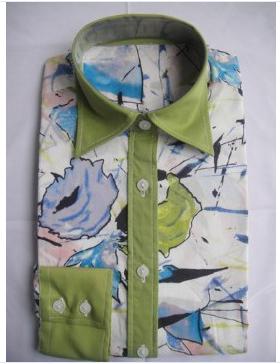 men's floral fashion shirt  1