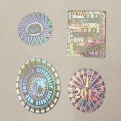 Customization High quality hologram sticker
