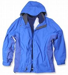 Ladies Taslan Oxford skiing jacket with seams taped (HNBC5095)