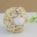 sterling silver fashion pendant decorate with imitation pearl for necklace  3