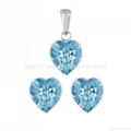 high quality crystal jewelry sets made