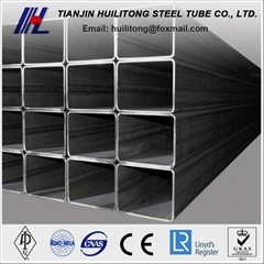 large diameter square carbon steel tube sizes