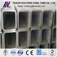 Rectangular Carbon Steel Pipe for Structure Usage