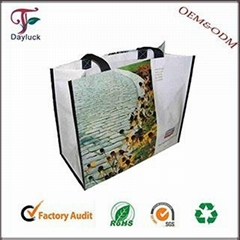 Nylon colors canvas shopping bag for marketing