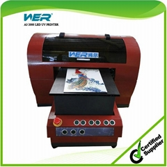 Cheaper Price Small UV Flatbed Printer with CE Certificate for Pen and Business