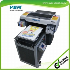 New Design Hot Sale A2 Size  Direct to Garment Printer for Fabric Cotton