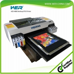 A2 desktop  T-Shirt Printer for Garment Printing with cheap price