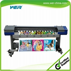 1.8 Meters Indoor and Outdoor Printing Machine Eco-So  ent Flatbed Printer with