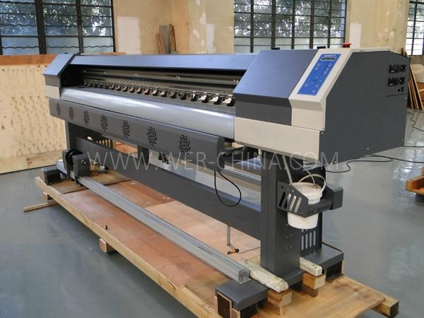 Price of Flex Printing Machine 2.5m with Two Epson Dx5 Head Eco So  ent Printer 2