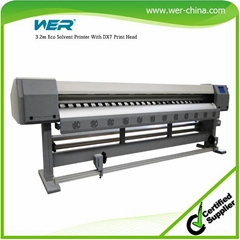3.2m with Two Epson Dx5 Head Inkjet Printer  New Banner Printing Machine