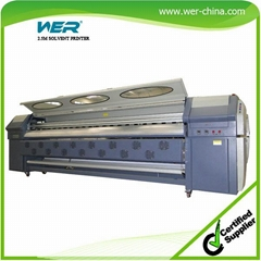 Hot Sale 3.2m Solvent Printer with 4 PCS Seiko Head  Spt510-35pl