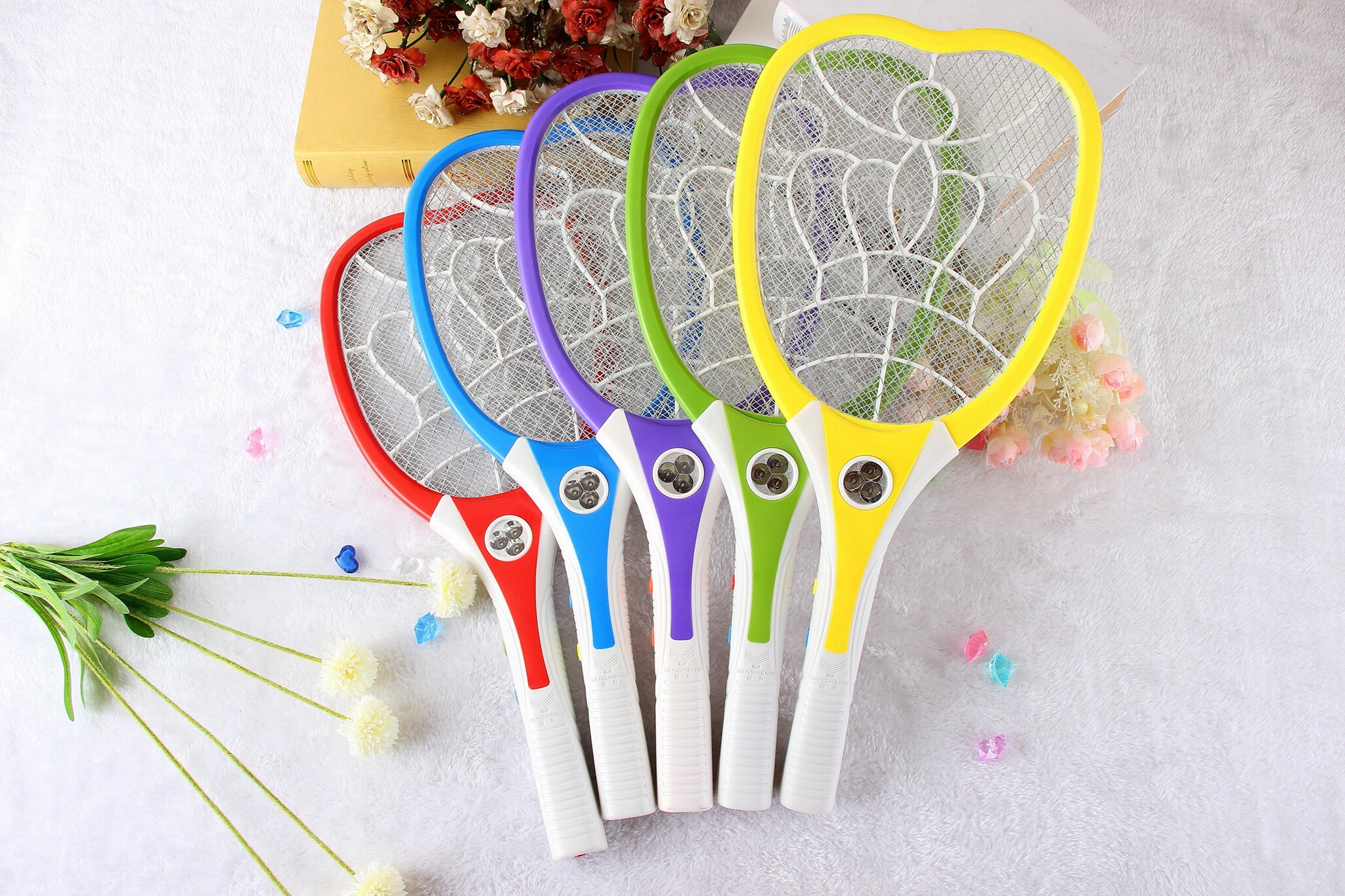 Rechargerable  Electronic Mosquito Swatter with CE certification 5