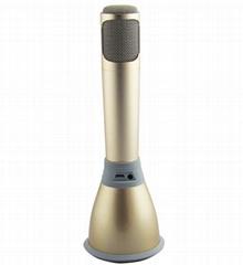 2015 singing App Bluetooth speaker microphone