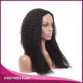 Wholesale 24 Inch Kinky Curly Virgin Brazilian Human Hair Wig 1