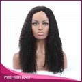 Wholesale 24 Inch Kinky Curly Virgin Brazilian Human Hair Wig 3