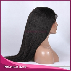 Wholesale Human Hair Wig Indian Remy Hair Lace Front Wig