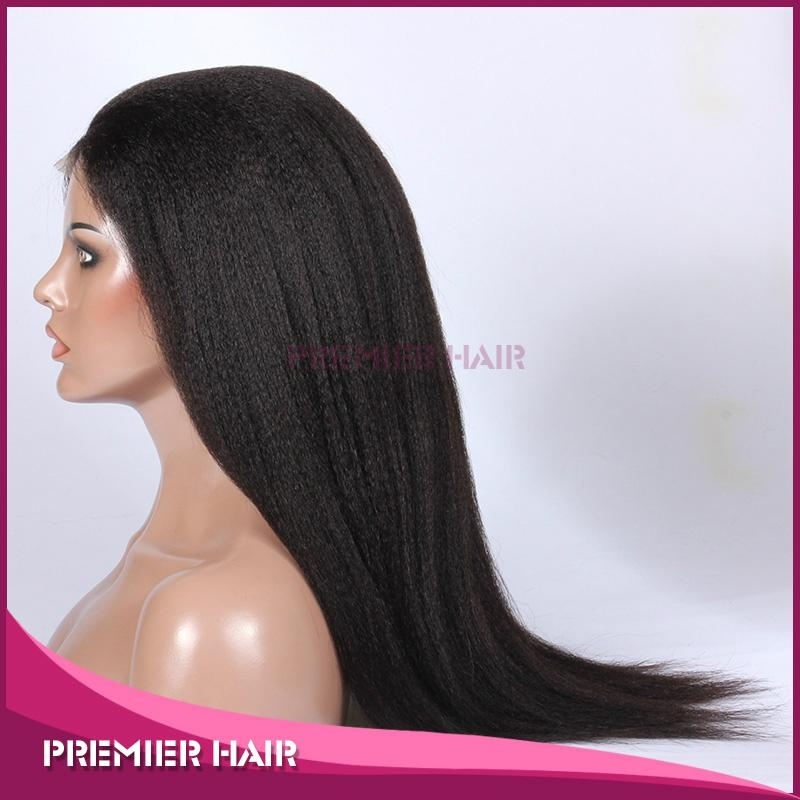 Wholesale Human Hair Wig Indian Remy Hair Lace Front Wig 3