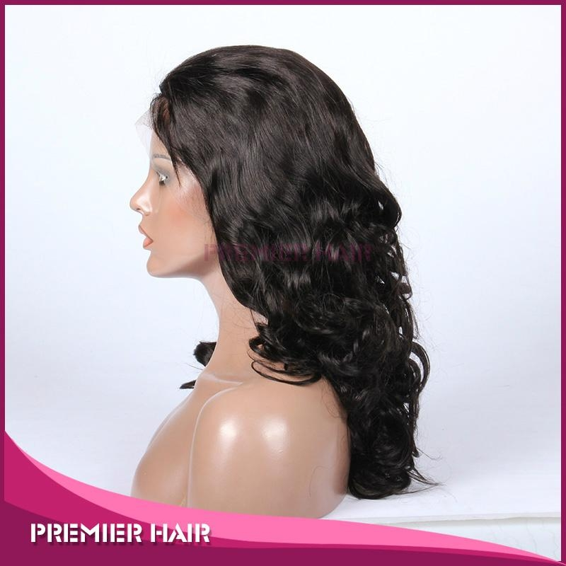 beyonce big body wave virgin chinese human hair full lace wig with baby hair 2