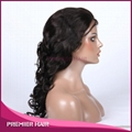 beyonce big body wave virgin chinese human hair full lace wig with baby hair 4