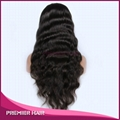 Virgin Brazilian Hair Glueless Silk Top Full Lace Wig 5