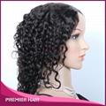Machine Made Wig Virgin Remy Indian Hair