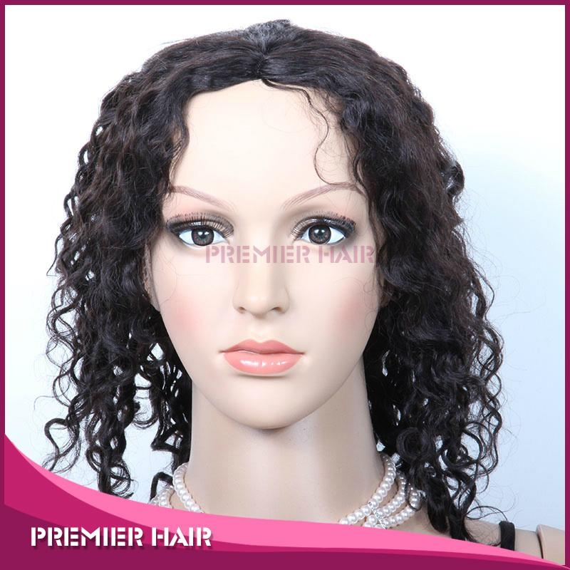 Machine Made Wig Virgin Remy Indian Hair Wig 2
