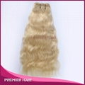 Factory Price  Blonde Color Virgin Remy