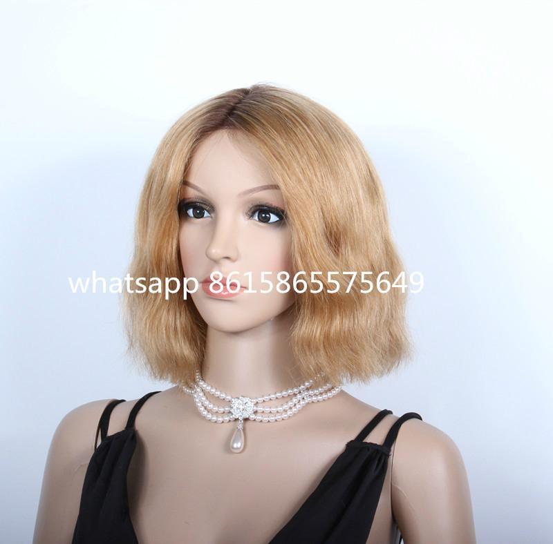 Beyonce Bob Style Virgin Brazilian Hair Lace Front Wig 3