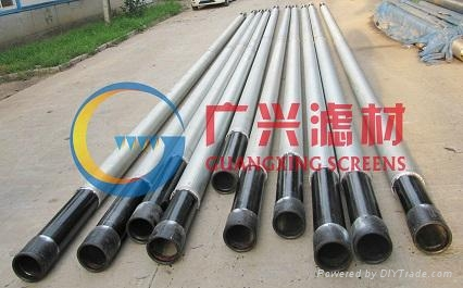 Pipe-based screen for oil well 3
