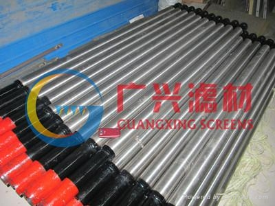 Pipe-based screen for oil well 2