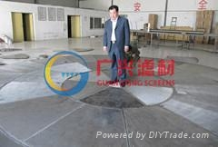 wedge wire round Screen for beer equipment
