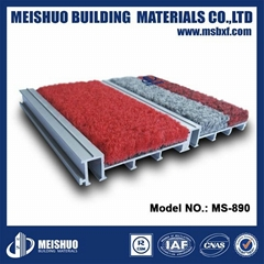 Aluminum entrance mat fo