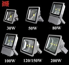 Led flood light 10w 20w 30w 50w 70w 80w 100w 150w  200w