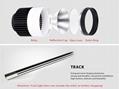 led track light 5w 7w 15w 20w 25w 30w with track rail  5