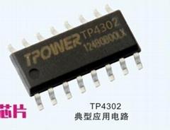 TP4302小米羅馬仕移動電源解決方案