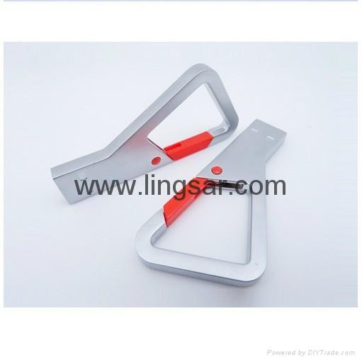 Metal hook USB Flash drive 3
