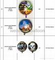 Halloween Helium Foil Mylar Balloons 4