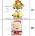 Christmas Series Helium Foil Mylar