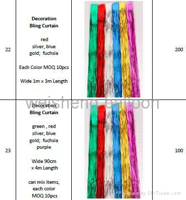 Decoration Bling Curtain 3