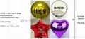 Offer Custom logo & design printing Foil Mylar Balloons 1