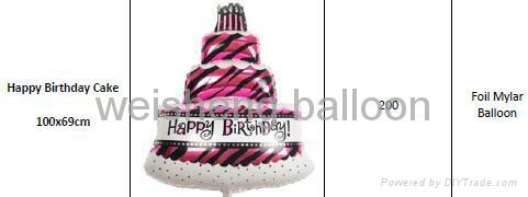 Birthday,Party Decoration Helium Foil Mylar Balloons  1