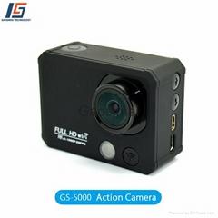 Gaosimai GS-5000 ski helmet camera waterproof sport camera wifi