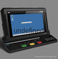 "7"" Mobile Data Terminal Mdt with Wince"