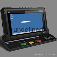 "7"" Mobile Data Terminal Mdt with Wince OS, GPS Navigation, Fleet Management"