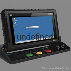 Mobile Data Terminal RFID reader for GPS Tracker Fleet Management System