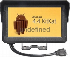 mobile data terminal with taxi dispatch